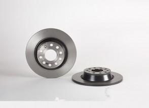 2 x Bremsscheiben HA für AUDI SEAT SKODA VW BREMBO 08.A202.11