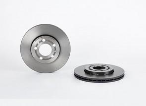 2 x Bremsscheiben Vorne für VW AUDI BREMBO 09.7011.11