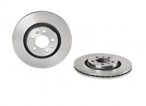 2 x Bremsscheiben vorne für AUDI VW BREMBO 09.7012.14