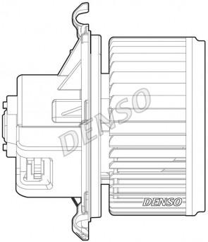 Innenraumgebläse für CITROËN PEUGEOT FIAT DENSO DEA09024