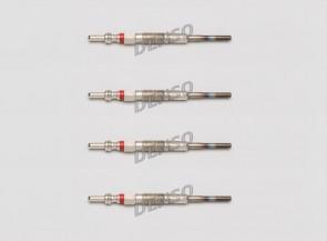 4 x Glühkerzen Glühstift DENSO DG-604