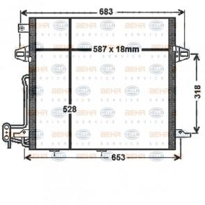 Heizkörper Klimaanlage HELLA 8FC 351 330-611