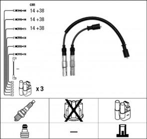Zündkabelsatz RC-MB1104 für Smart NGK 4070