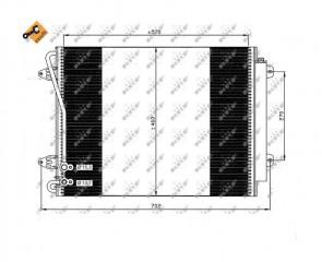 NRF 35613 Kondensator eine Klimaanlage für VOLKSWAGEN