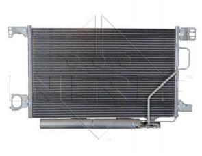 Kondensator eine Klimaanlage für MERCEDES NRF 35893