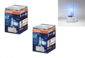 2x Xenon Brenner D1S 6000K Xenarc Cool Blue Intense OSRAM 66140CBI