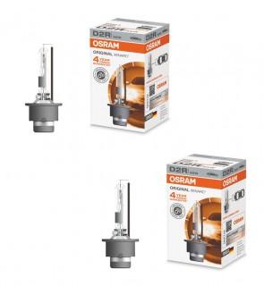 2x Xenon-Scheinwerferlampen D2R 35W P32D-2 XENARC OSRAM 66250