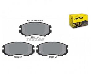 Bremsbeläge Bremsbelagsatz Bremssteine Bremsklötze vorne TEXTAR 2389101