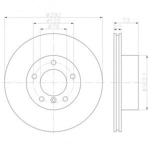 2x Bremsscheibensatz PRO Vorderachse TEXTAR 92132805