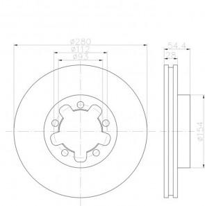 2x Bremsscheibensatz PRO Vorderachse TEXTAR 92151803