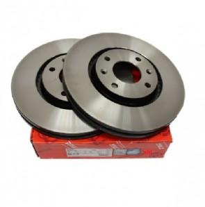 2 x Bremsscheibe für CITROEN OPEL PEUGEOT Vorderachse TRW DF4183
