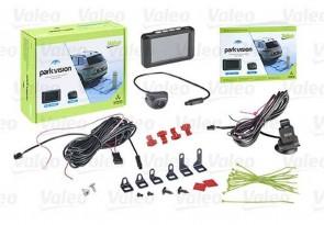 VALEO 632210 Einpark-Assistent Hinten mit Kamera ohne Sensor mit LCD-Farbanzeige