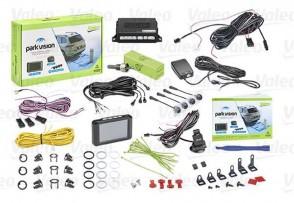 VALEO 632211 Einpark-Assistent 4 Sensor Hinten mit Kamera mit LCD-Farbanzeige