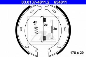 Bremsbackensatz Feststellbremse für MERCEDES-BENZ ATE 03.0137-4011.2
