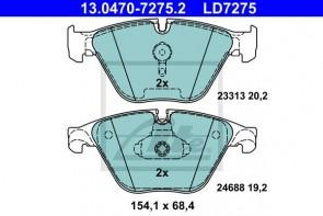 ATE Bremsbeläge Ceramic für BMW Vorderachse ATE 13.0470-7275.2