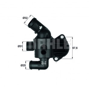 Thermostat mit Dichtung 87 °C MAHLE BEHR TI 15 87