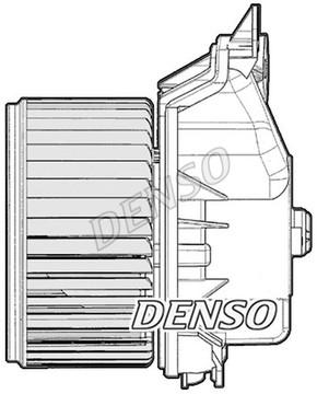 Innenraumgebläse Lüftermotor DENSO DEA20012