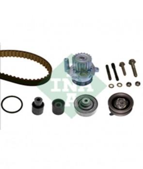 Zahnriemensatz mit Wasserpumpe für AUDI SEAT VW INA 530 0082 30