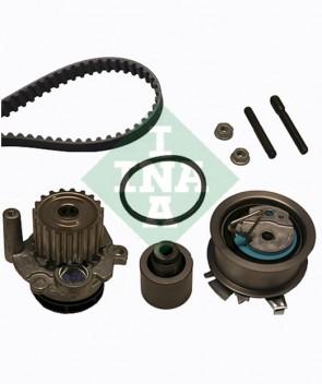 Zahnriemensatz + Wasserpumpe für AUDI SEAT SKODA VW INA 530 0201 32