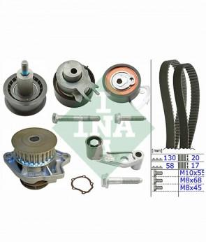 Zahnriemensatz + Wasserpumpe für SEAT VW INA 530 0360 30