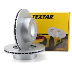 2x Bremsscheibensatz hinten für MAZDA 6 2.0 DI TEXTAR 92125603