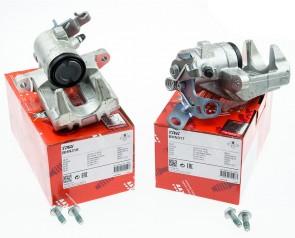 Bremssattelsatz Hinten für Audi Leon Octavia VW Golf Eos TRW BHN317 und BHN318