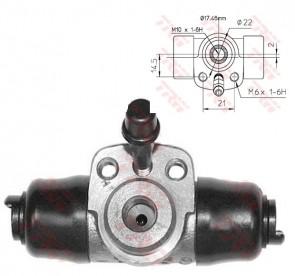 Radbremszylinder TRW BWC107