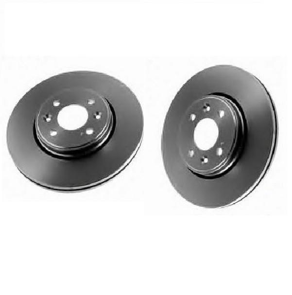 2 x Bremsscheibe für DACIA RENAULT Vorderachse TRW DF4110