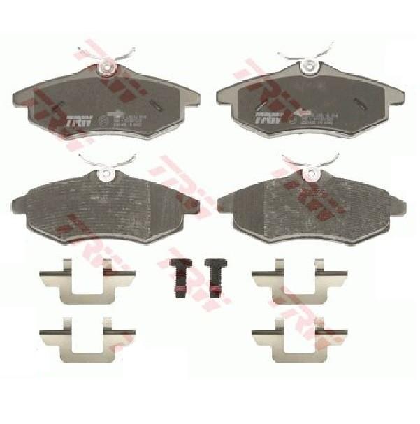 Bremsbelagsatz für CITROËN C2 C3 TRW GDB1495