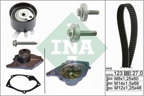 Wasserpumpe mit Zahnriemensatz INA 530 0197 30