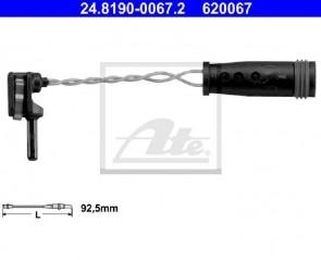 Warnkontakt  92,5 mm Hinten ATE 24.8190-0067.2
