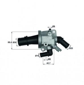 Thermostat Integralthermostat mit Sensor 88,0 °C BEHR TI 153 88