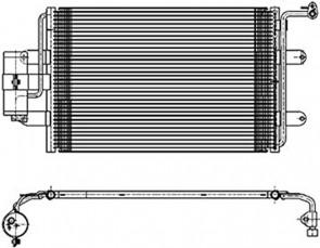 Kondensator Klimaanlage HELLA 8FC 351 036-384