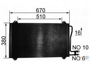 Kondensator Klimaanlage HELLA 8FC 351 037-161