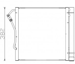 Kondensator Klimaanlage Klimakühler HELLA 8FC 351 301-274