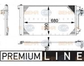 Kondensator Klimaanlage Klimakühler HELLA 8FC 351 317-654