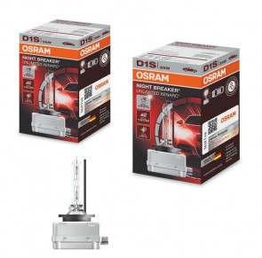 2x D1S Scheinwerferlampen Xenarc Night Breaker Unlimited +70% OSRAM 66140XNB