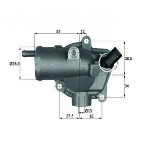 Integralthermostat 92 °C Thermostat  MAHLE BEHR TI 27 92