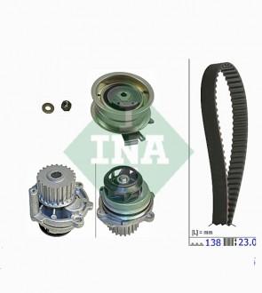 Zahnriemensatz mit Wasserpumpe INA 530 0171 31
