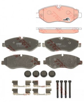 Bremsbeläge Scheibenbremse TRW GDB1698