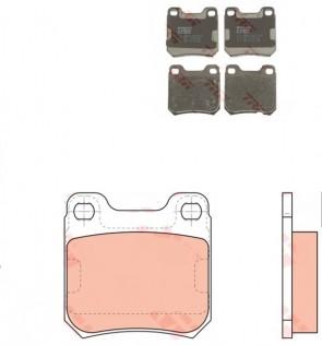 Bremsbelagsatz Bremsbeläge Hinten für OPEL TRW GDB915